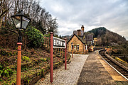 Llangollen Digital Art - Berwyn Station by Adrian Evans