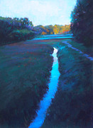 Morning Pastels - Beside Thorton by Ed Chesnovitch
