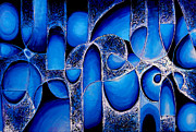 Best Choice Art Award Original Abstract Oil Painting Modern Contemporary House Wall Deco Gallery Print by Emma Lambert