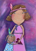 Crafts For Kids Posters - Best Friends Forever Poster by Sonja Mengkowski