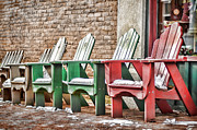 Best Seats In Town Print by Heather Applegate