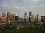 Pittsburgh Pirates Painting Prints - Best View of ANY Baseball Stadium Print by David Bartsch