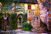 Courtyards Prints - Bethesda by the Sea Print by Debra and Dave Vanderlaan