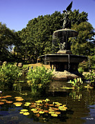 Bethesda Fountain Prints - Bethesda Fountain - Central Park 2 Print by Madeline Ellis