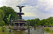 Bethesda Fountain Prints - Bethesda Fountain II Print by Madeline Ellis