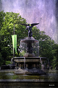 Bethesda Fountain Prints - Bethesda Fountain Print by Madeline Ellis