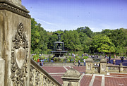 Bethesda Fountain Prints - Bethesda Fountain V - Central Park Print by Madeline Ellis