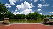 Boat House Prints - Bethesda Terrace Central Park New York Print by Amy Cicconi