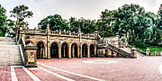 Bethesda Terrace Prints - Bethesda Terrace Print by David Hahn