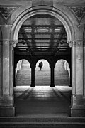 Urban Scenes Prints - Bethesda Underpass at Central Park in New York City Print by Ilker Goksen