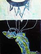 Bethlehem And Mary Print by Gloria Ssali