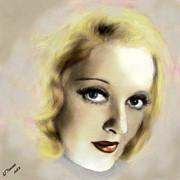 Bette Davis Eyes Print by Arne Hansen