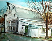 Grafton Ma Paintings - Better Days by Scott Nelson