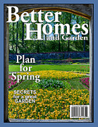 Magazine Cover Digital Art - Better Homes and Garden Fake Cover by John Haldane