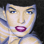 Movie Star Photo Originals - Bettie Page by Tony Rubino