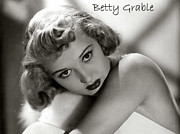 Grable Framed Prints - Betty Grable Framed Print by Studio Release