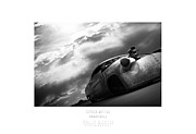 Hot Rod Photography Posters - Betty Storm-rocket Heads Racing- Bonneville Poster by Holly Martin