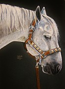Black Horse Pastels Prints - Between Classes Print by Heather Gessell