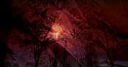 Between Darkness Print by Vanessa GF