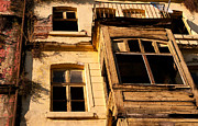 Weathered Houses Posters - Beyoglu Old House 02 Poster by Rick Piper Photography