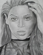 Music Pastels Originals - Beyonce by Aaron Balderas