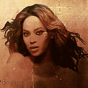 Beyonce Posters - Beyonce Simple by GBS Poster by Anibal Diaz