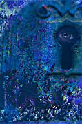 Beyond The Door - Abstract Print by J Larry Walker