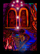 Visionary Art Photo Prints - Beyond The Door of Death Print by Susanne Still