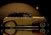 Custom Chevrolet Deluxe Posters - Beyond the Moon Poster by Tim McCullough