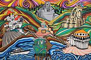 Beyond The Sea Print by Carlos Martinez