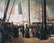 Biard, Fran�ois Auguste 1799-1882 Print by Everett