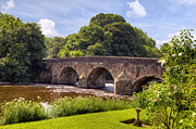 Stone Bridge Posters - Bickleigh - Devon Poster by Joana Kruse
