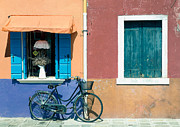 Venecia Photos - Bicycle  by A Rey