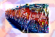 Bicycle Art - Ref 5804 Print by Colin Hogan