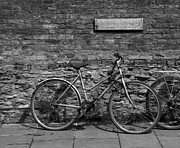 Ladies Bike Photos - Bicycle Cambridge by Graham Moore