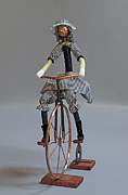 Bicycle Art Sculptures - Bicycle by Lynn Wartski