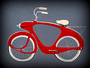Karyn Robinson Metal Prints - Bicycle of the Future Metal Print by Karyn Robinson