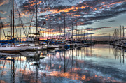Yacht Photos - Bidding Farewell To Summer by Heidi Smith