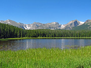 Bierstadt Photo Prints - Bierstadt Lake 1 Print by Margaret Doss