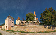 Romania Photos - Biertan Fortified Church by Gabriela Insuratelu