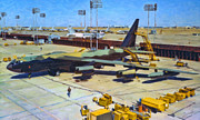 B-52 Prints - Big Bad and Beautiful Print by Dale Jackson