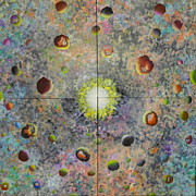 Nebulae Painting Originals - Big Bang # 7 by David Mintz