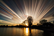 Time Stack Prints - Big Bang Print by Matt Molloy