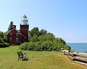 George Jones - Big Bay Point Lighthouse