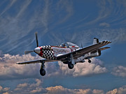 P51 Photo Posters - Big Beautiful Doll Poster by Peter Chapman