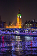 Big Ben Originals - Big Ben at night by Roxana Scurtu