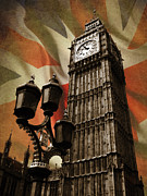 Union Jack Photos - Big Ben London by Mark Rogan