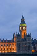 Big Ben London Print by Matthew Gibson