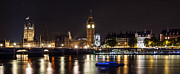 Night-scape Prints - Big Ben  Print by Wayne Molyneux