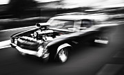 Beach Hop Framed Prints - Big Block Chevelle Framed Print by Phil 